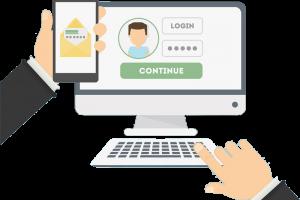 ورود با رمز یکبار مصرف در سایت ساز وبیکا - OTP